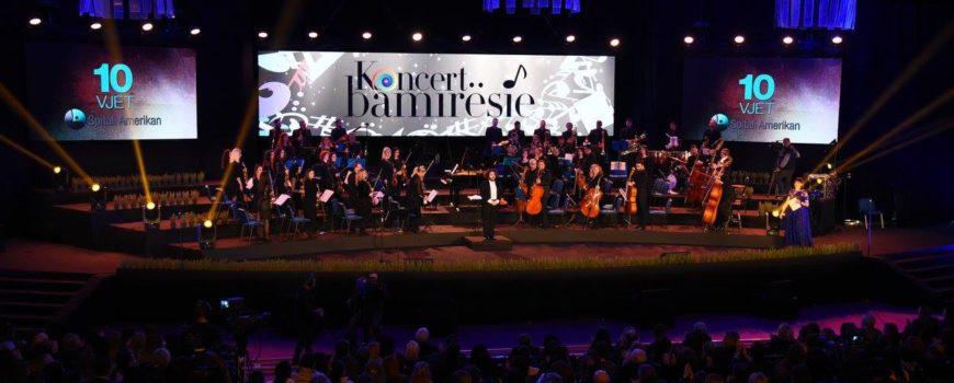 Koncert gala nga Spitali Amerikan: Tingujt e humanizmit pushtojnë Pallatin e Kongreseve
