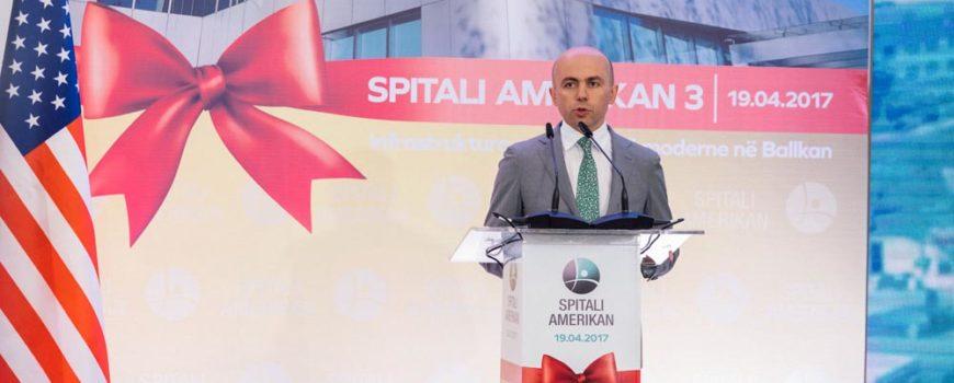 Përurohet filiali i tretë i Spitalit Amerikan në Tiranë