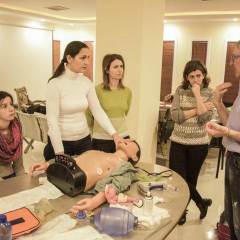 """""""Dia Vita"""" zhvillon trajnimin për menaxhimin e urgjencave mjekësore"""