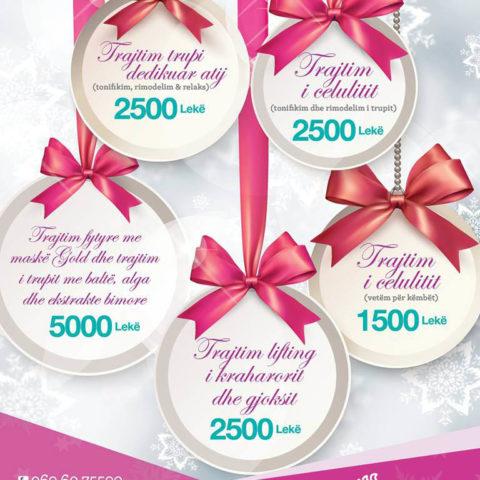 S'keni vendosur ende për dhuratat e fundvitit?  Klinika dermoestetike Vivia, ofron paketat me zbritje